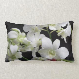 Almohada hermosa del Lumbar de las orquídeas