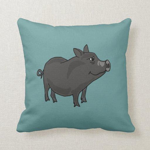 Almohada hinchada pote del cerdo AW