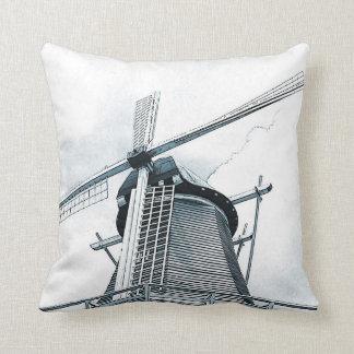 Almohada holandesa de los molinoes de viento
