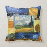 Almohada ideal del arte de las pinturas de Van Gog