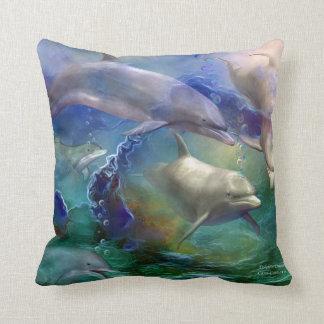 Almohada ideal del diseñador del arte del delfín