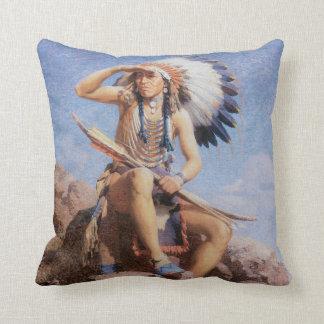 Almohada india de MoJo del nativo americano del