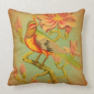 Almohada india del pájaro