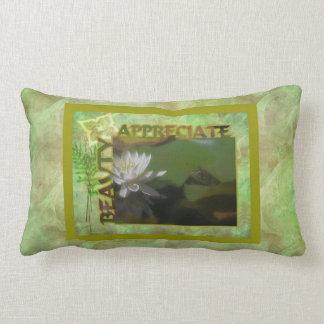 Almohada inspirada de MoJo del americano de la bel