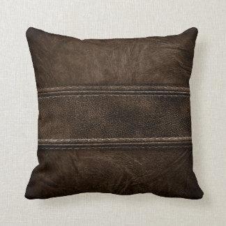 Almohada interior moderna de cuero del estilo de