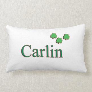 Almohada irlandesa de la familia de Carlin