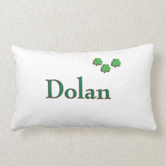 Almohada irlandesa del apellido de Dolan