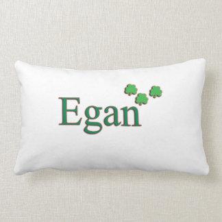 Almohada irlandesa del apellido de Egan Cojín Lumbar