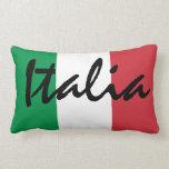 Almohada italiana de MoJo de la bandera de Italia
