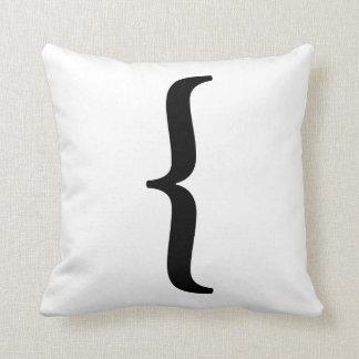 Almohada izquierda del soporte de la prensa de cojín decorativo