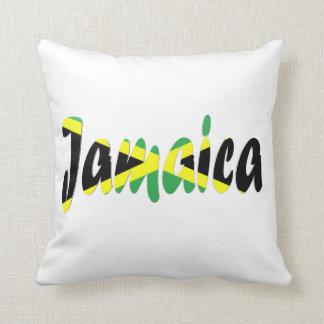 Almohada jamaicana de la bandera