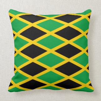 Almohada jamaicana del modelo de la bandera