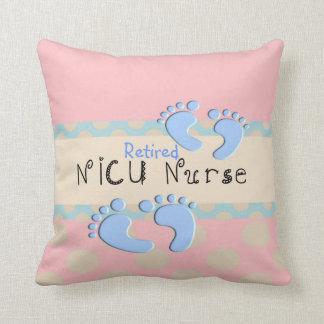 Almohada jubilada adorable de la enfermera de NICU