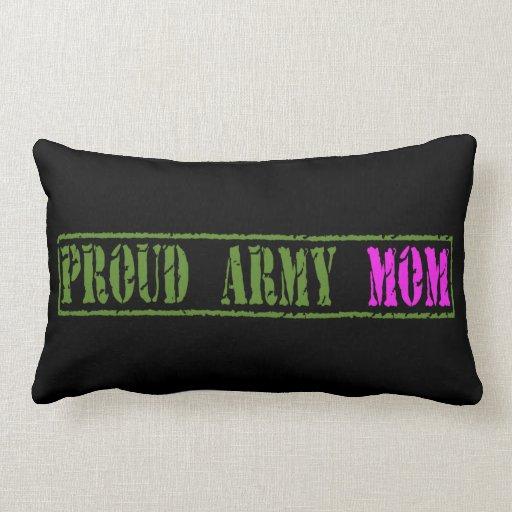 Almohada larga de la mamá militar orgullosa