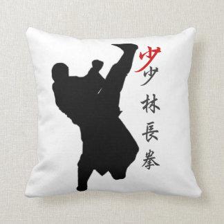 Almohada larga del boxeo del puño de Shao Lin Cojín Decorativo