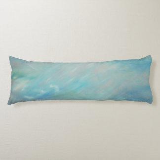 Almohada larga del flotador de la neblina azul del cojin cama