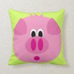 Almohada linda del cerdo