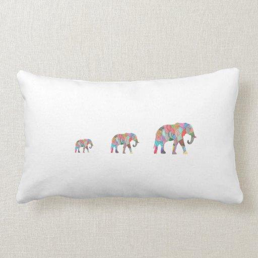 Almohada linda del elefante cojín lumbar