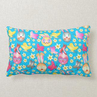 Almohada linda del modelo de los conejitos