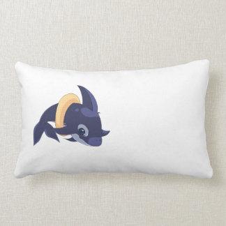 Almohada linda para los niños - Billy el delfín Cojín Lumbar