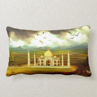 """Almohada lumbar 13"""" del poliéster del Taj Mahal X Cojín Lumbar"""