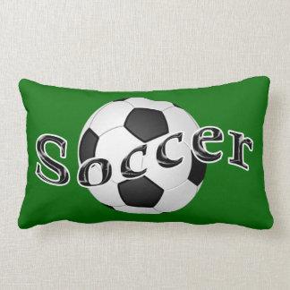 Almohada lumbar del fútbol su NOMBRE y NÚMERO del