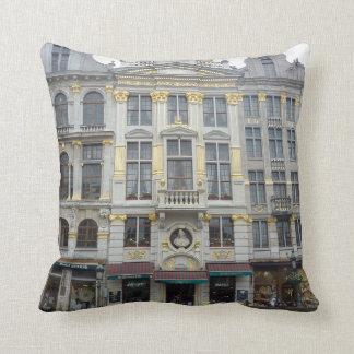 Almohada magnífica de la foto de Bruselas del