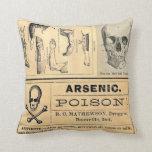 Almohada médica de la anatomía del veneno del crán