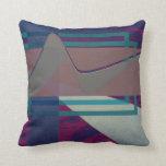 almohada moderna abstracta