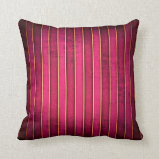 Almohada moderna del sofá del tiro de la raya del