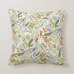 Almohada multicolora de Paisley