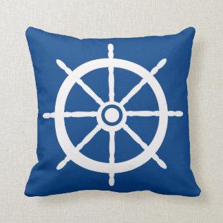 Almohada náutica del reversible de la rueda del