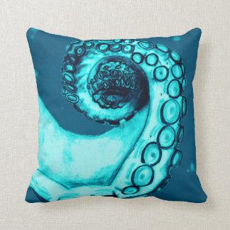 Almohada náutica del tentáculo de la marina de cojín decorativo