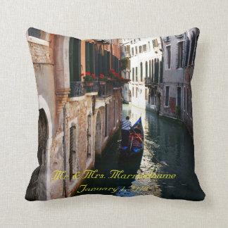 Almohada para el tema veneciano