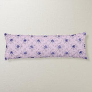 """Almohada perenne violeta azul 20"""" del cuerpo del"""