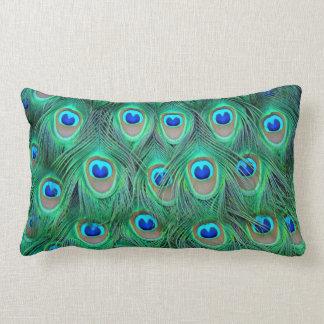 Almohada perfecta del pavo real
