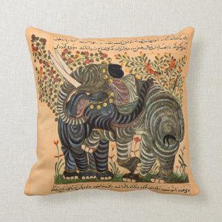 Almohada persa de los elefantes