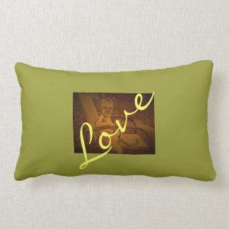 Almohada personalizada del amor