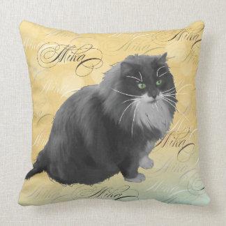 Almohada personalizada del gato de Mika 3