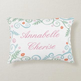 Almohada personalizada elegancia clásica cojín