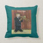 Almohada personalizada para el jugador de Trombone