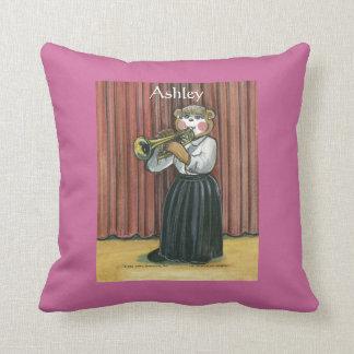 Almohada personalizada para el jugador de trompeta