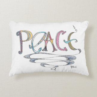Almohada polivinílica del acento de la paz cojín decorativo
