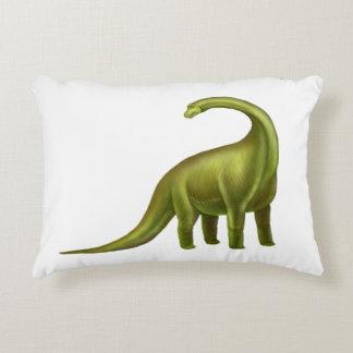 Almohada prehistórica del dinosaurio verde del cojín decorativo