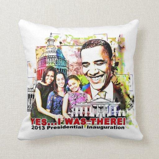 Almohada presidencial de la inauguración de Obama