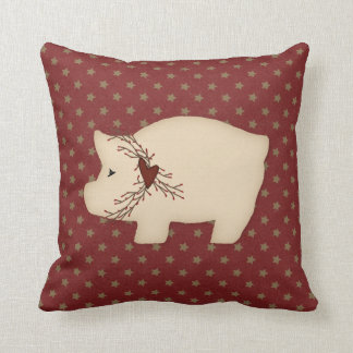 Almohada primitiva del cerdo