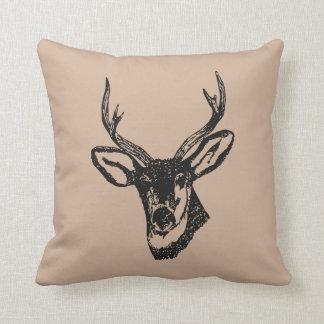 Almohada principal del acento de los ciervos cojín decorativo