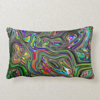 almohada psicodélica del arco iris del flujo del c