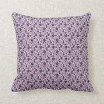 Almohada púrpura bonita