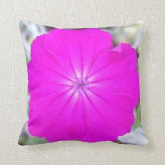 Almohada - púrpura de la coronaria color de rosa